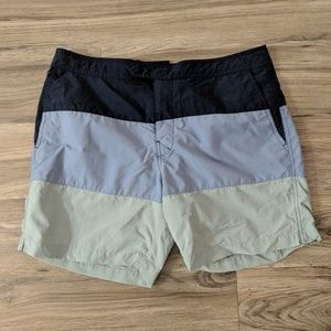 J Crew swim board shorts